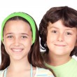Royalty-Free Stock Photo: Couple of children