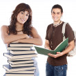 Young students — Stock Photo #9626827