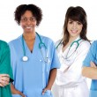 Multi-ethnic medical team - Foto de Stock