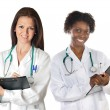 Two women doctors — Stock Photo