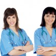 Medical team of four doctors — Foto de Stock