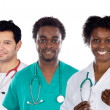 Foto Stock: Team of young doctors
