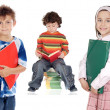 Children students — Stock Photo