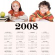 2008 Calendar - Stock Photo