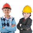 Two engineer futures — Stock Photo #9627104