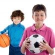 Two adorable children — Stock Photo #9627135