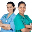 Couple of doctors woman — Stock Photo #9627152