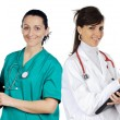 Medical team — Stock Photo #9627174