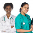 Stock Photo: Two women doctor