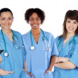 Multi-ethnic medical team — Stock Photo #9627735