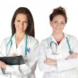 Two doctor women — Stock Photo #9628008