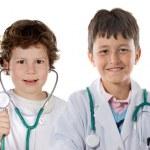 couple de futurs médecins — Photo