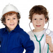 Future generation of workers - Stockfoto