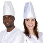 Happy cooks team — Stock Photo