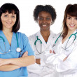 Team of young doctors — Stock Photo #9628720