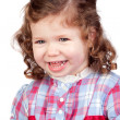 Smiling baby girl — Stock Photo