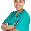 Attractive lady doctor — Stock Photo #9629110