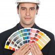 Young architect — Stock Photo