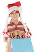 Malý santa — Stock fotografie