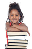 Adorable girl student — Stock Photo