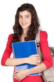 Student teen girl — Stock Photo
