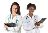Two women doctors — Stock Photo
