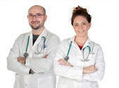 Teamwork of medical — Stock Photo