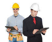 Team of workers — Stock Photo