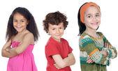 幸せな子供たちのグループ — ストック写真