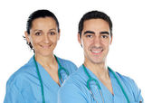 Couple of doctors — Stockfoto