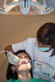 Samråd med tandläkare — Stockfoto