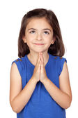 Angelic little girl — Stock Photo