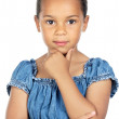 Adorable girl thinking — Stock Photo #9630171