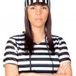 Beautiful prisoner — Stock Photo #9630902