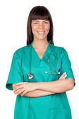 Happy doctor woman — Stock Photo