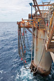 Semi-Submersible Drilling Rig — ストック写真