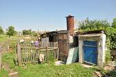 Ukrainian Homestead — Stock Photo