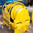 Auxiliary Winch on the Drill Floor — Stock Photo