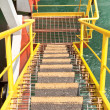 Staircase on Drill Ship — Stock Photo