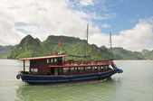 Vietnamese Cruising Boat — Stock Photo