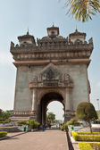 Victory Gate in Vientiane — Stock Photo