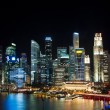 singapore at night — Stock Photo
