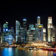 Royalty-Free Stock Photo: Singapore at Night