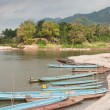 Boats on the Mekong River — Stock Photo