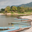 Royalty-Free Stock Photo: Boats on the Mekong River