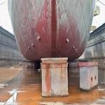 Ship in Dry Dock — Stock Photo #9721350