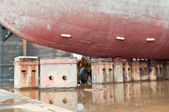 Drill Ship in Dry Dock — ストック写真