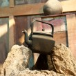 Kettle on Stones — Stock Photo #9859640