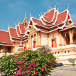 Laotian Temple — Stock Photo