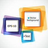 Abstracte kleurrijke achtergrond — Stockvector